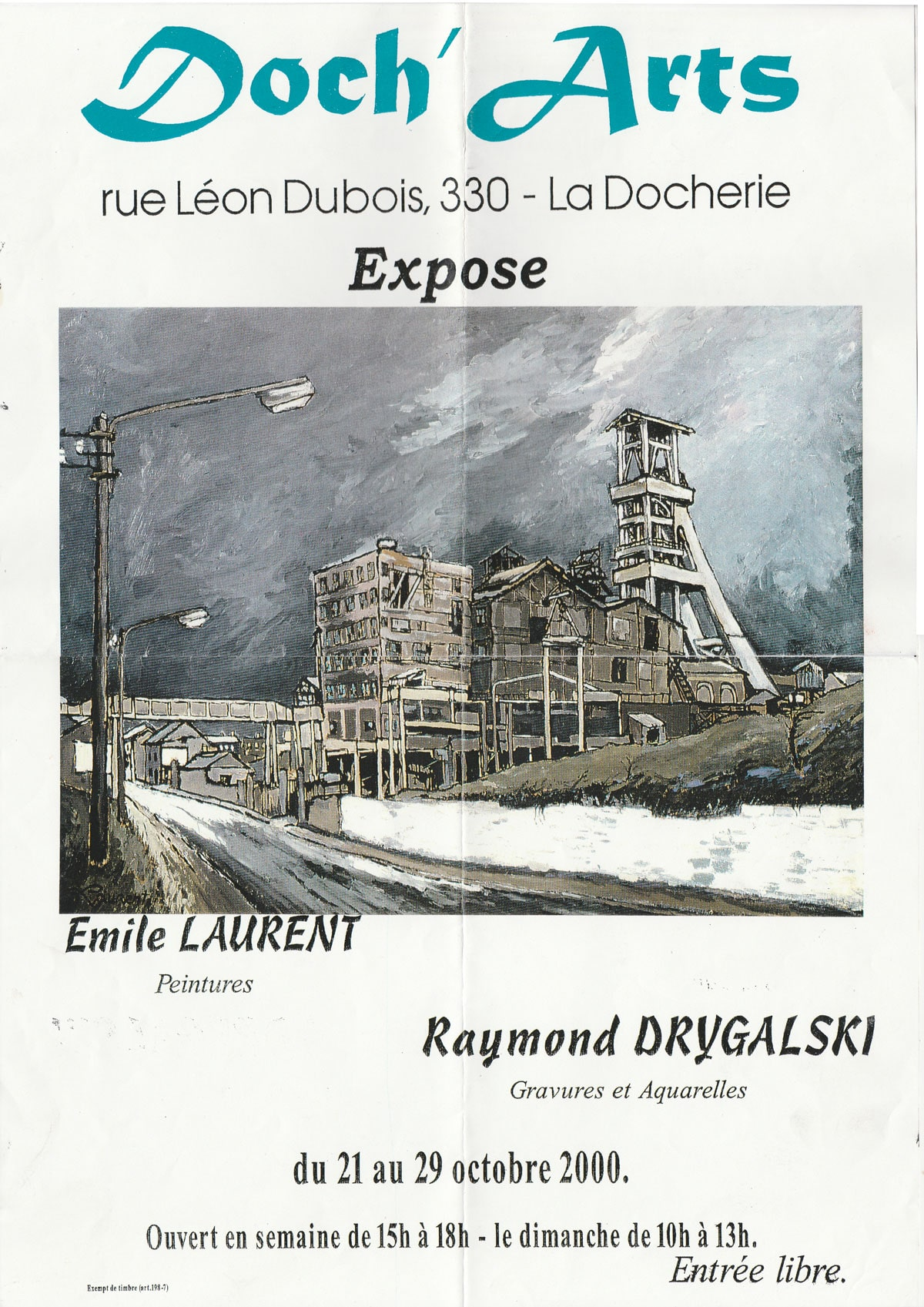Exposition à l'Espace Doch'Arts
