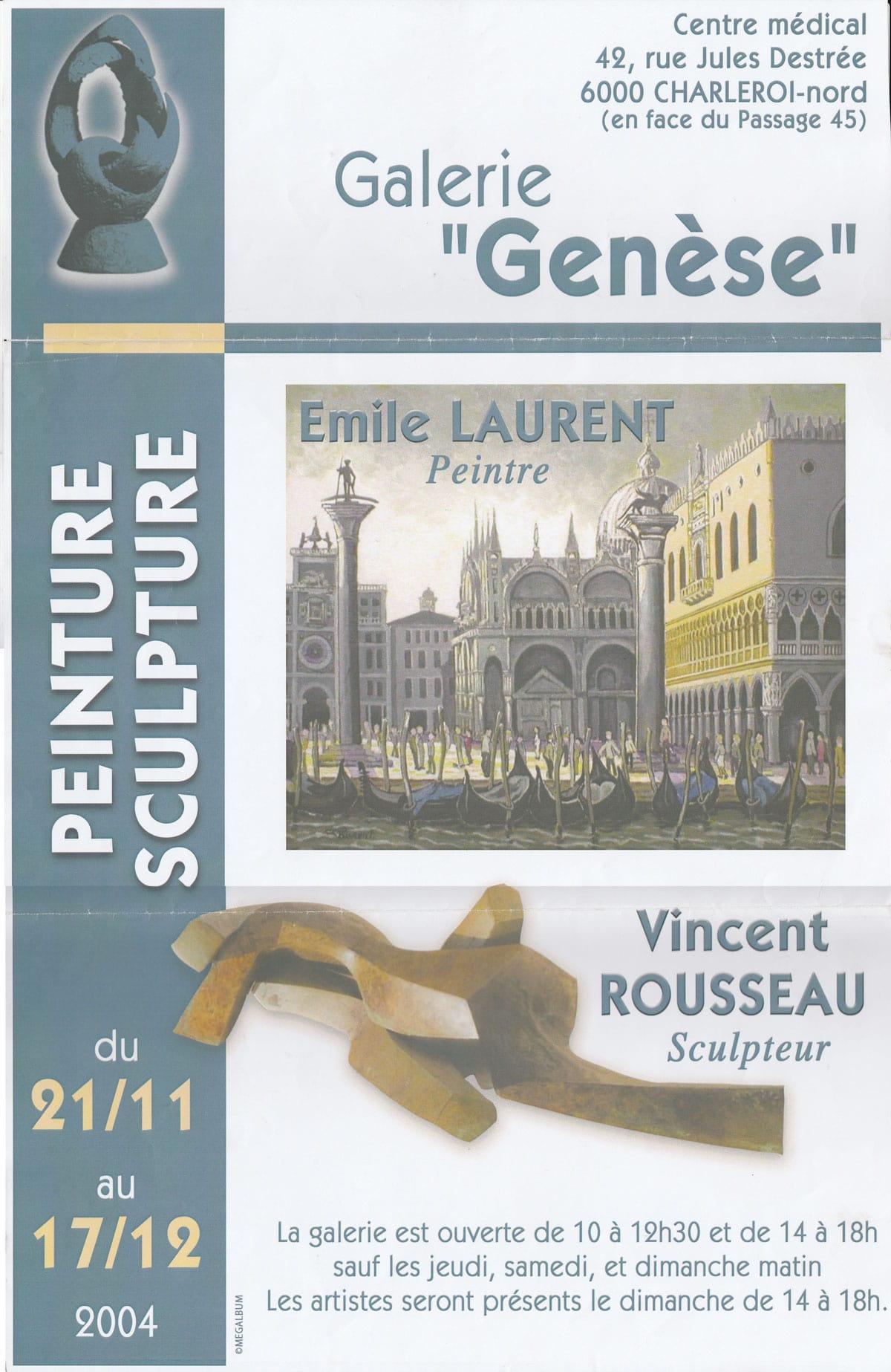 Exposition «Du Pays Noir à Venise»