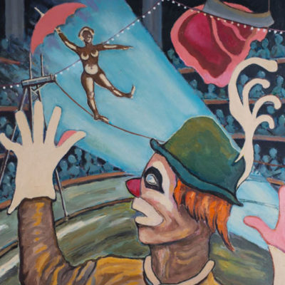 Emile Laurent série Les Cirques