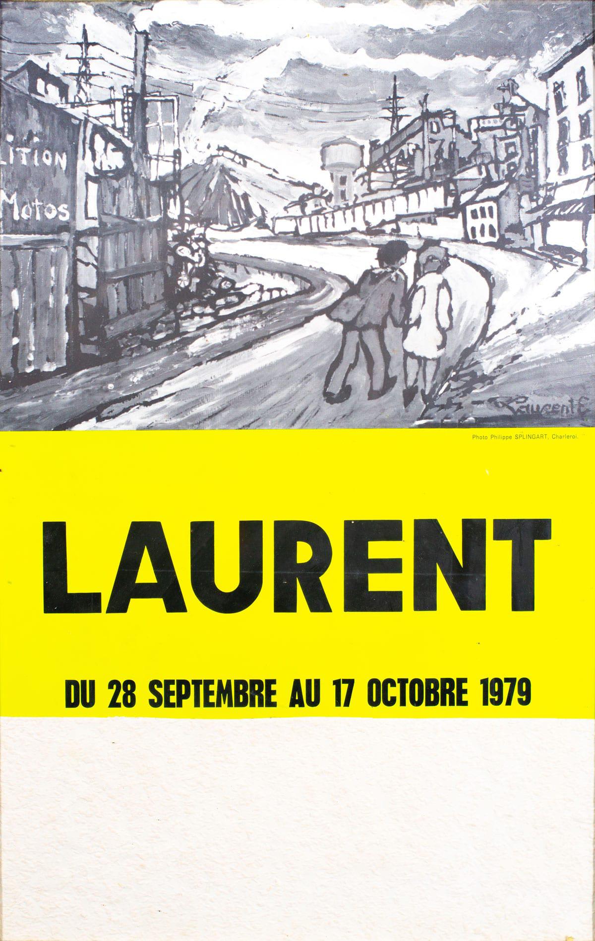 Exposition à la Galerie Beciani 1979