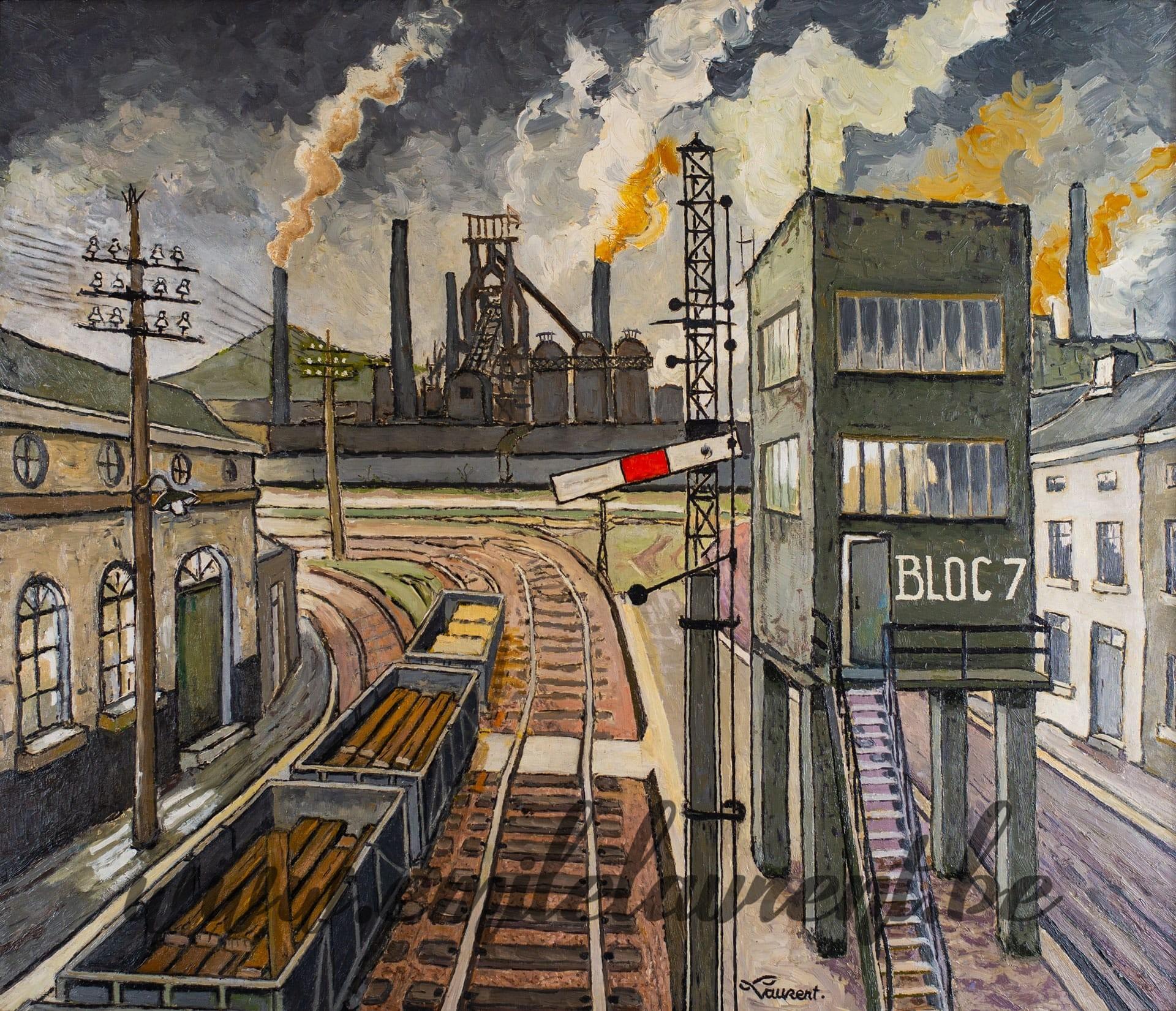 Le Rail, Bloc 7
