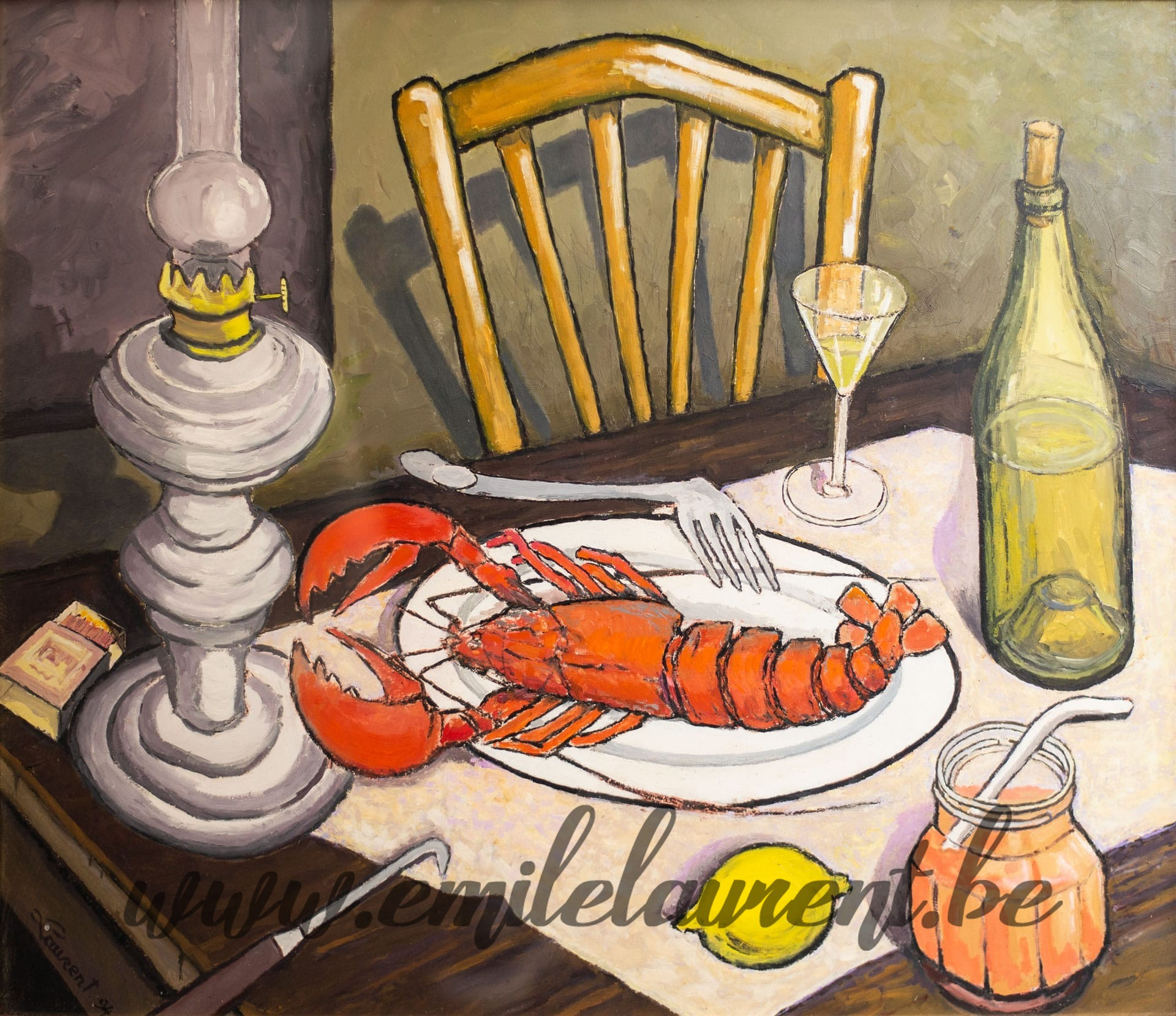 Nature Morte au Homard