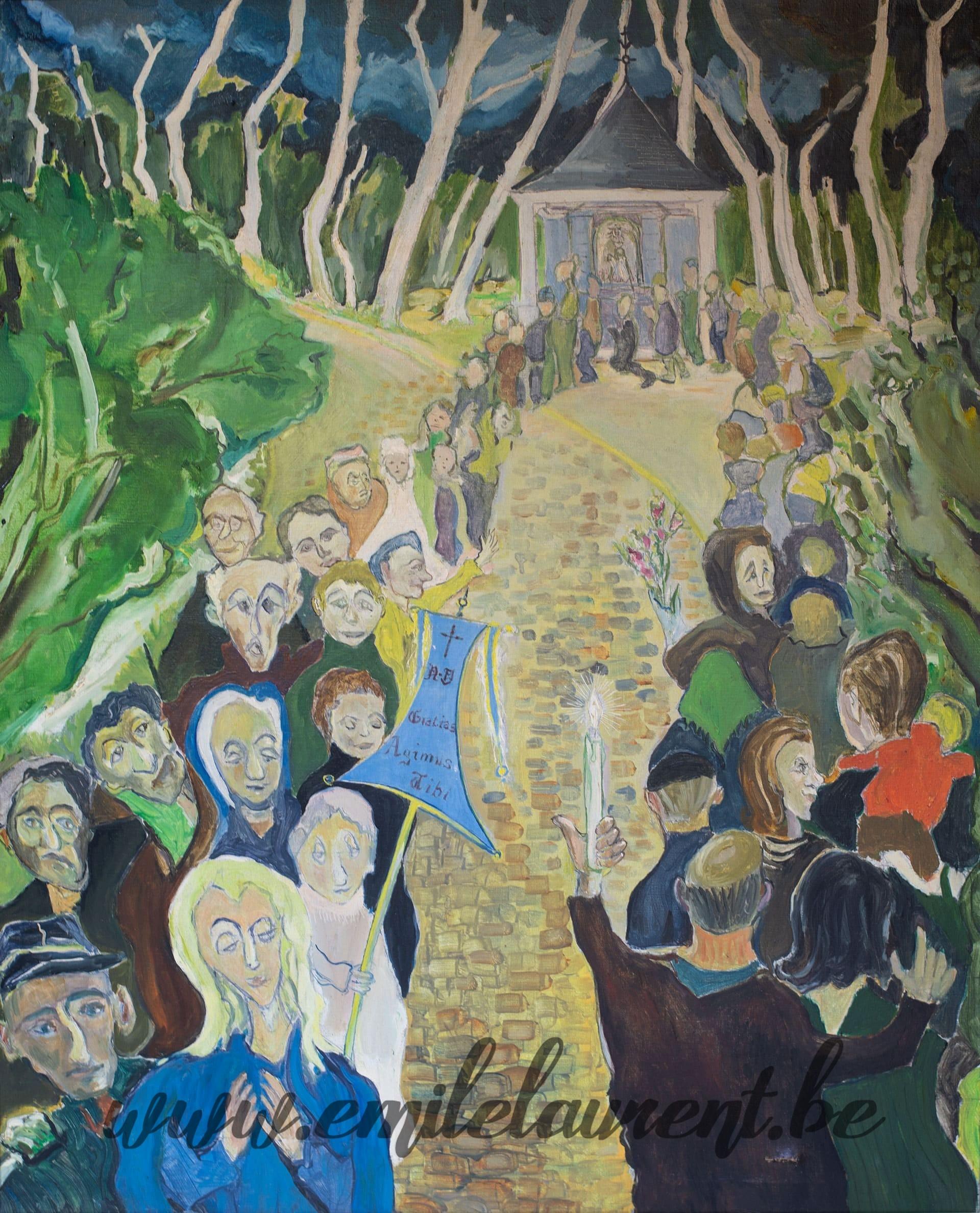Pèlerinage à Villers-la-Ville