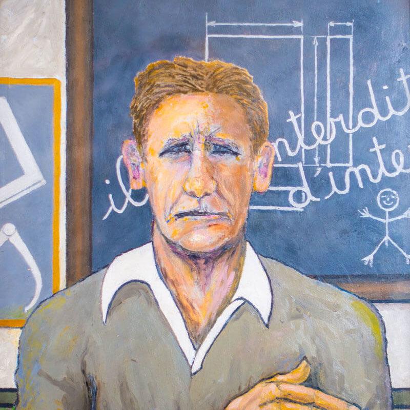 Emile Laurent portrait autoportrait