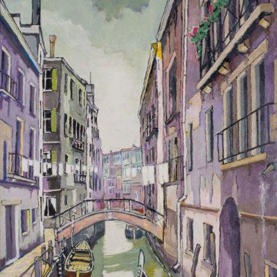 Emile Laurent Venise peintre