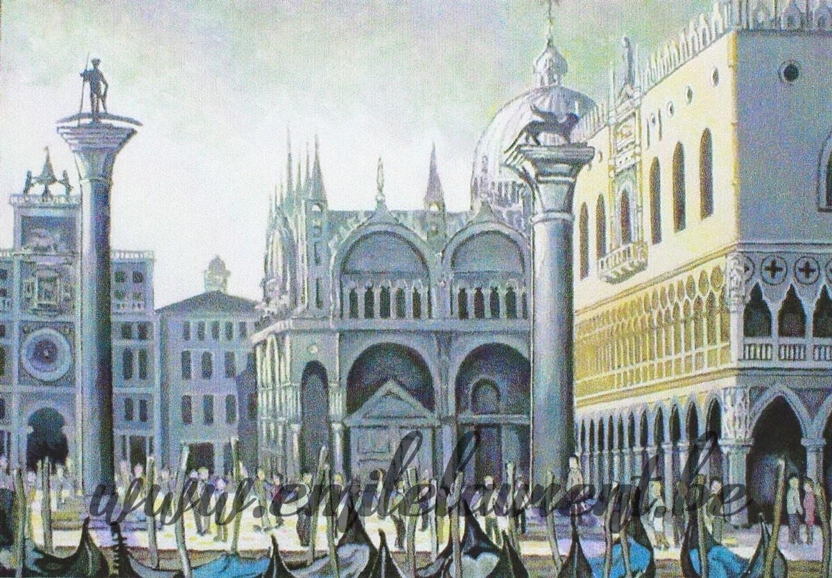 Colonnes et Piazzetta