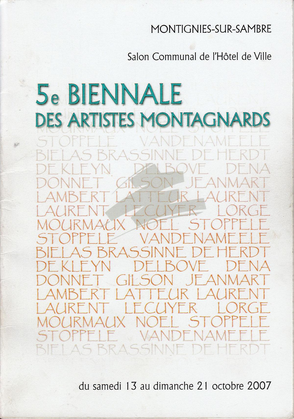 5ème Biennale des Artistes Montagnards