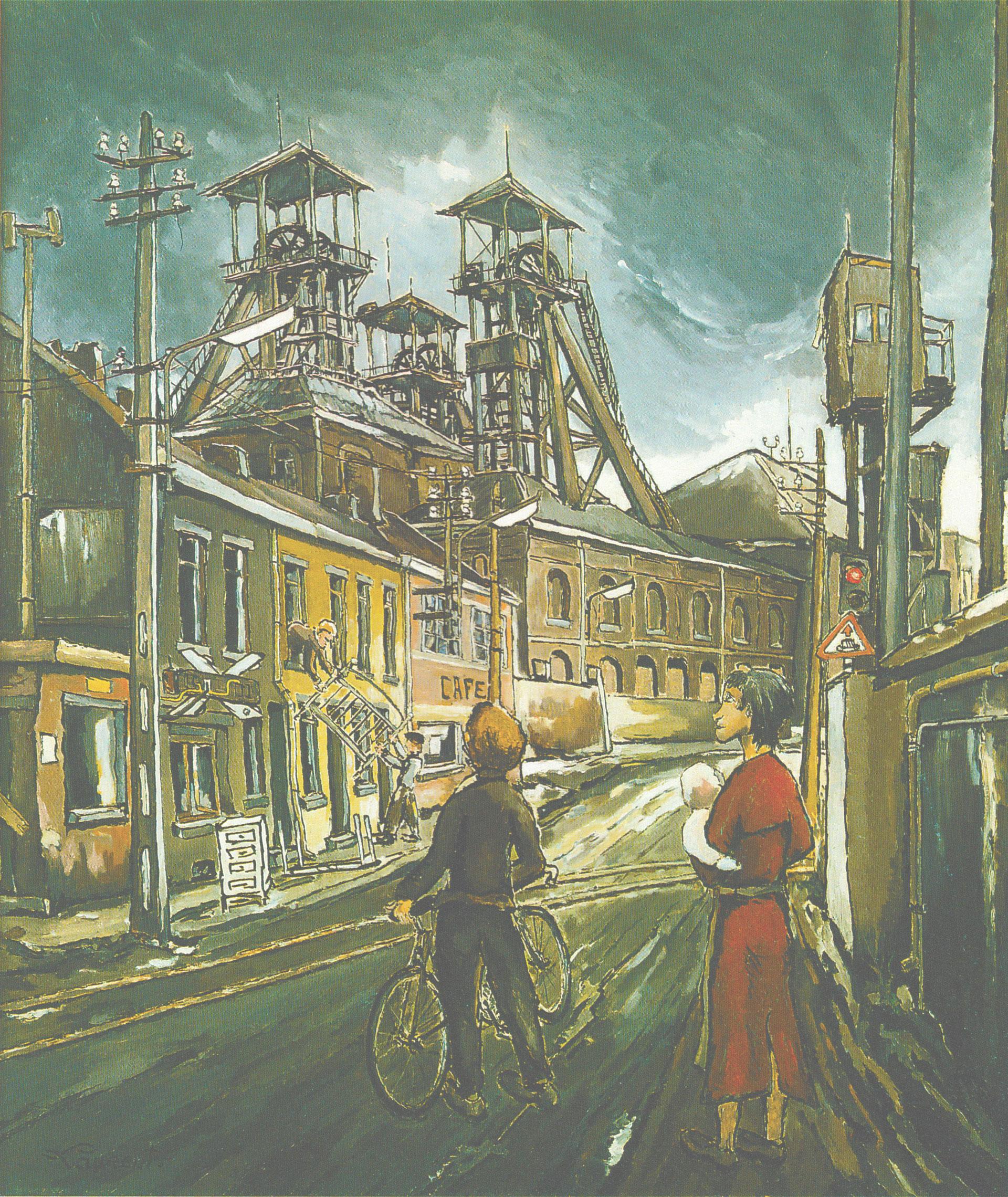 Emile Laurent peintre du Pays noir